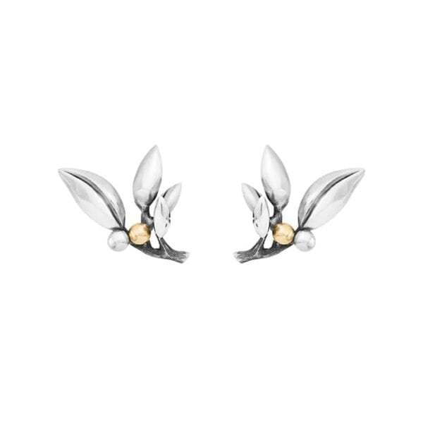 Ole Lynggaard Forest Earrings Gold & Silver Melbourne