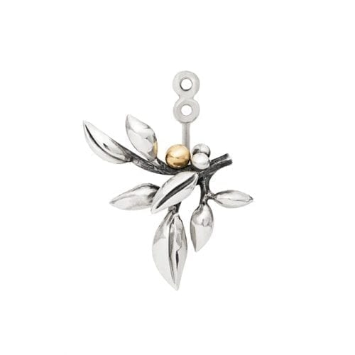 Ole Lynggaard Forest Pendant For Earring Gold & Silver Melbourne