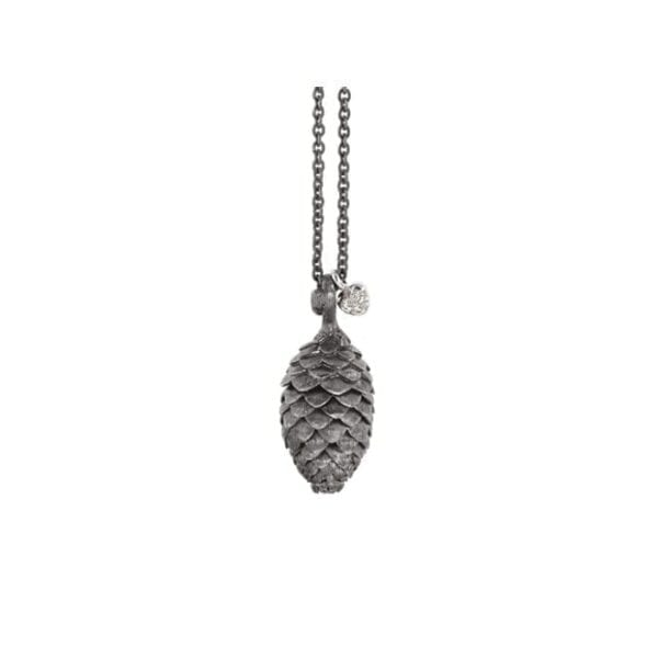 Ole Lynggaard  Forest Pendant Gold & Silver & Diamonds Melbourne