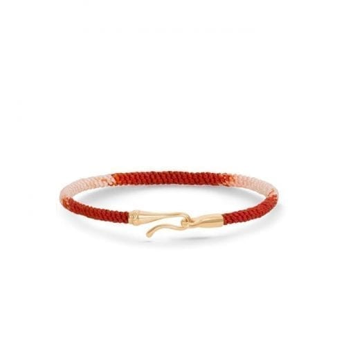 Ole Lynggaard Life Bracelet (Red Emotions) 18K Yellow Gold Melbourne