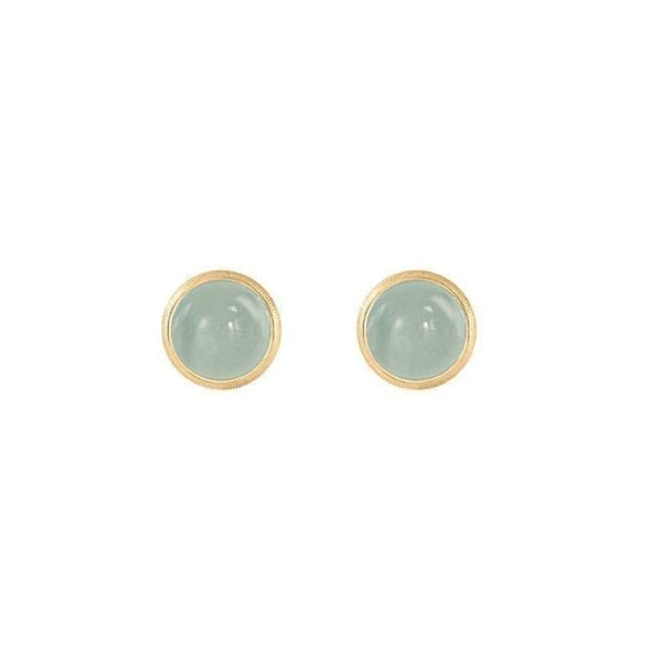 Ole Lynggaard Lotus Earrings 18K Yellow Gold