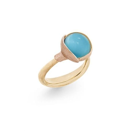 Ole Lynggaard Lotus Ring 2 Turquoise Melbourne