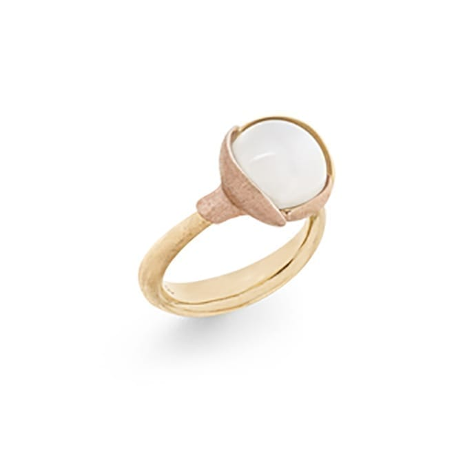 Ole Lynggaard Lotus Ring 2 White Moonstone Melbourne