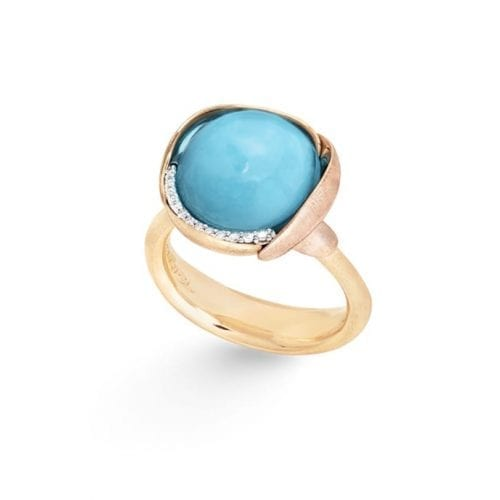 Ole Lynggaard Lotus Ring 3 Turquoise Melbourne