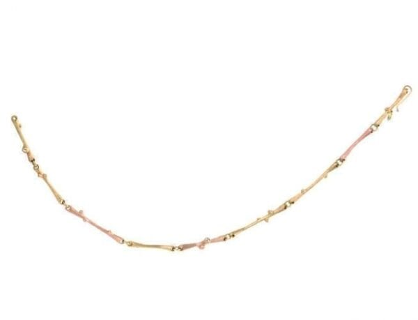 Ole Lynggaard Nature Bracelet Yellow & Rose Gold A2692-403 Trewarne Jewellery Melbourne