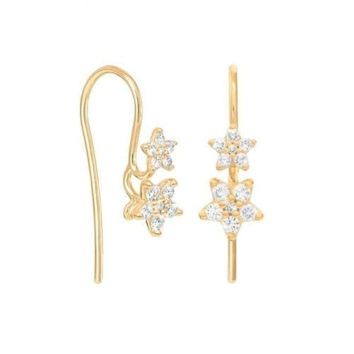Ole Lynggaard Shooting Stars Earrings 18K Yellow Gold & Diamonds Melbourne