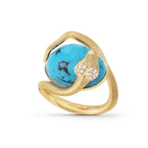 Ole Lynggaard Special Edition Snake Ring Turquoise Melbourne