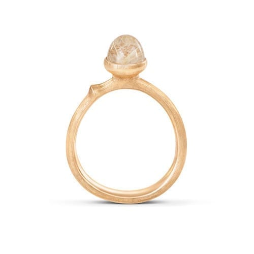 melbourne.jewellery.olelynggaard.yellowgold.gold.lotus.ring.size0.18ct.rutile.quartz
