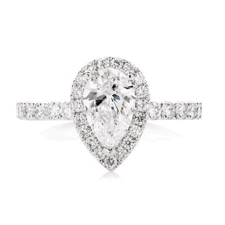 Dione Goddess Engagement Ring Melbourne