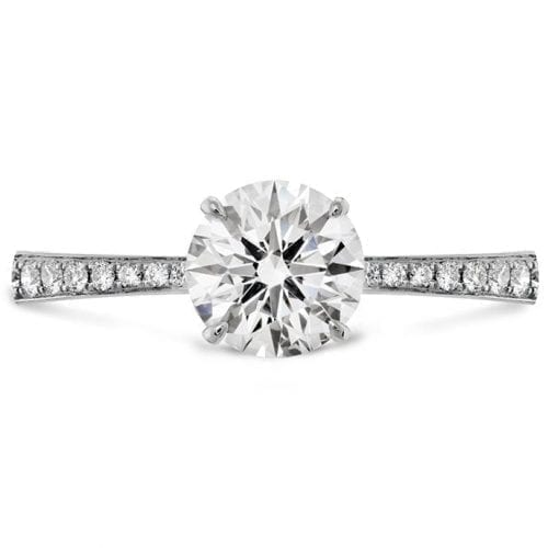 Hearts On Fire HOF Signature Solitaire with Diamond Band Melbourne