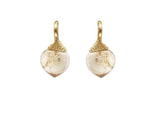Ole Lynggaard Copenhagen Dew Drop Earrings A2638-409 Ear Hanger Small Dew Drop 18K Yellow Gold