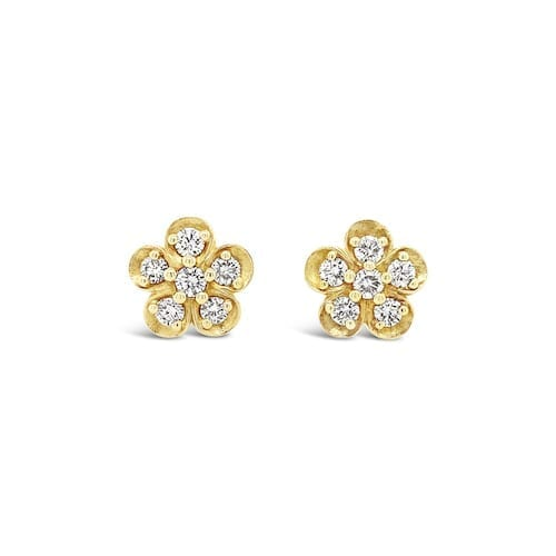 sakura.diamond.cluster.stud.earrings.yellow.gold.large