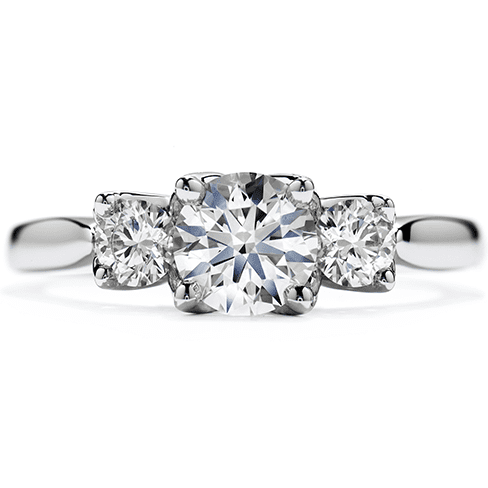 hearts-on-fire-simply-bridal-leaf-three-stone-engagement-ring-top-view-trewarne-melbourne