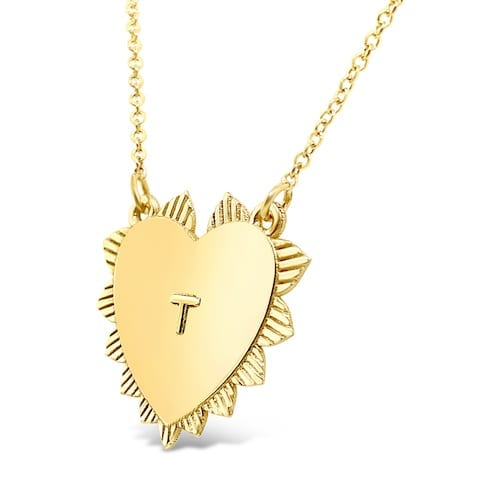 heart.pendant.yellow.gold.initial.necklace.trewarne.jewellery.melbourne