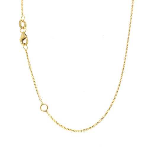 fine.gold.chain.trace.link.adjustable.yellow.gold