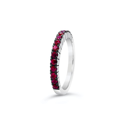 Alectrona-ruby-eternity-ring-melbourne-white-gold
