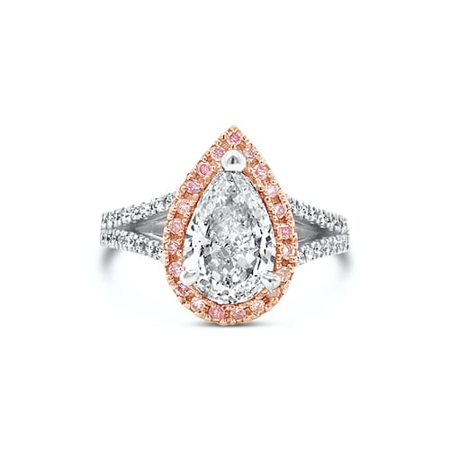 tyche-goddess-pearshape-diamond-halo-ring-1.5ct-pink-diamonds-trewarne-melbourne