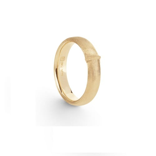 A2688-401Yellow gold Mens nature band Ole Lynggaard