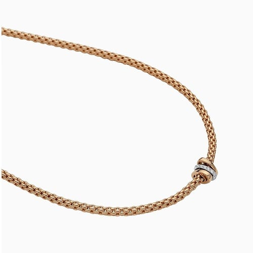 PRIMA COLLECTION Necklace with diamonds