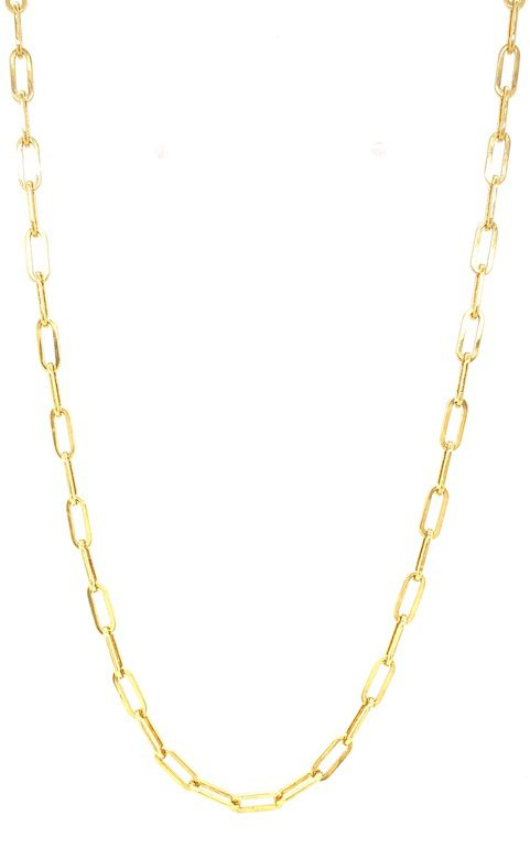 Paperclip_link_chain_18ct_yellow_gold